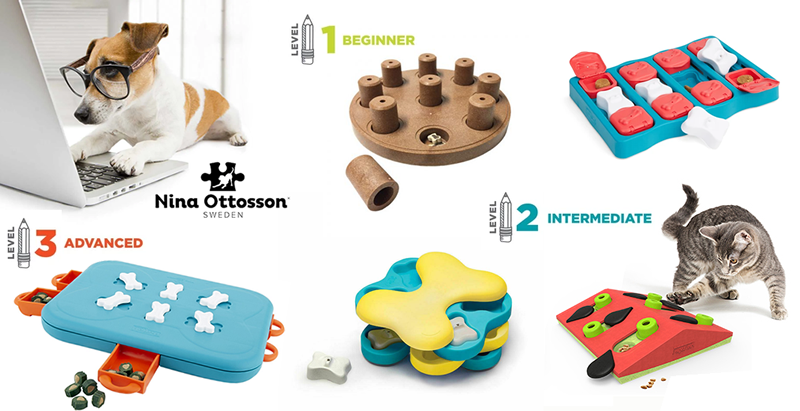 Nina Ottosson Enrichment Games