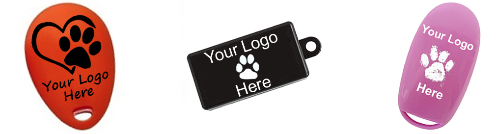 Personalised imprinted clickers