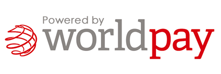 Secure payments powered by WorldPay