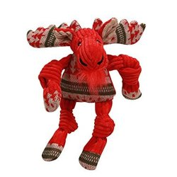 Hugglehounds Knottie Nordic Christmas Moose for Dogs