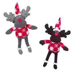 Trixie Plush Christmas Reindeer Dog Toy