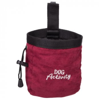 Dog Activity Snack Baggy Treat Bag Red