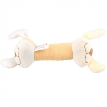 Snuggle Plush Play Toy Dumbbell is perfect for cuddling, chewing, chasing or retrieving