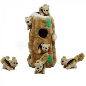 Interactive Plush Toy Hide a Squirrel