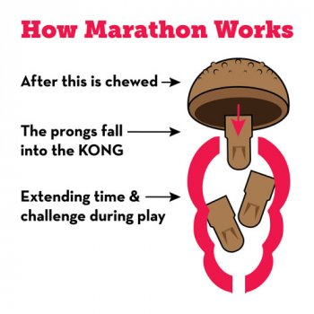How the KONG Marathon Treat for Dogs works
