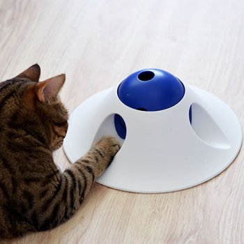Snack Ball Puzzler slow feeder for cats