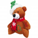 Trixie Plush Christmas Bear Dog Toy